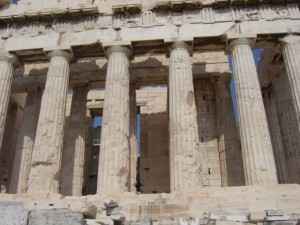 Die Akropolis in Griechenland
