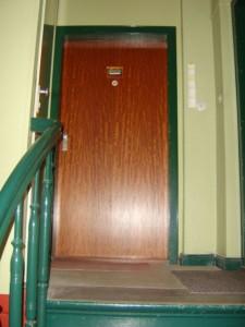 Bild einer Haustür