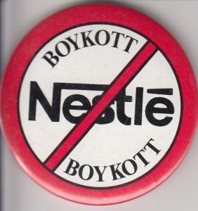 Boykott-Button