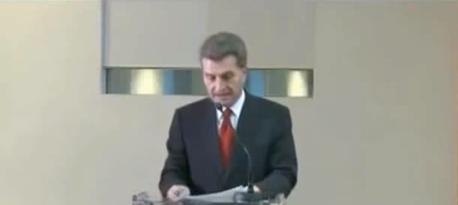 """Welch ein Hohn - Der neue Haushaltskommissar Günther Oettinger - eine chronologische Auflistung seiner """"Lobbyarbeit"""""""