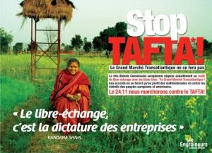 Freihandelsabkommen: STOP TAFTA! Großdemo in Frankreich – Ein Alptraum geht um in Europa, doch die Medien schweigen