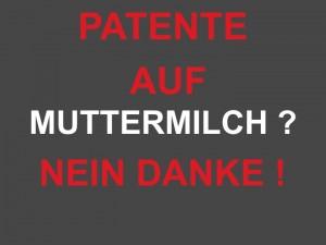 patente auf muttermilch