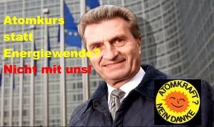 Atomkurs statt Energiewende? EU-Kommission will 69 neue Atomkraftwerke für Europa – Nicht mit uns!