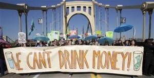 Wasserverschmutzung durch Fracking