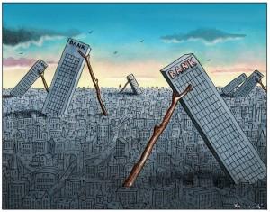 Euro-Rettungsschirm ESM – Die Banken haben in Europa eine Spur der Verwüstung hinterlassen