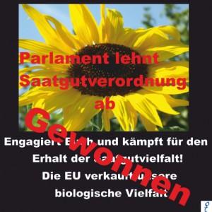 Wir haben gewonnen! Saatgut-Vielfalt schützen, statt vernichten! Parlament lehnt Saatgutverordnung ab