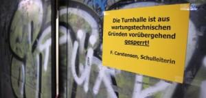 Turnhallen in Hamburg geschlossen