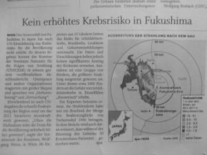 UN-Krebsstudie zu Fukushima: Versuchte Vertuschung auf ganzer Linie