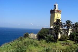 Cap Spartel mit Blick auf Spanien