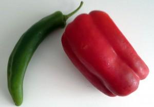 Tomate, Paprika