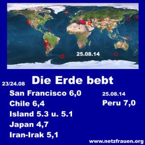 Netzfrauen Erdbeben