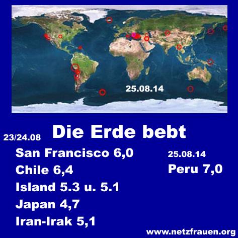 wo entstehen die meisten erdbeben