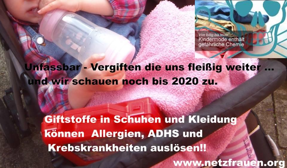 ADHS durch Giftstoffe in Schuhen und Kleidung?