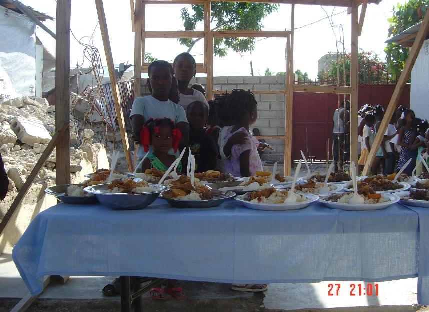 Menschen in Haiti