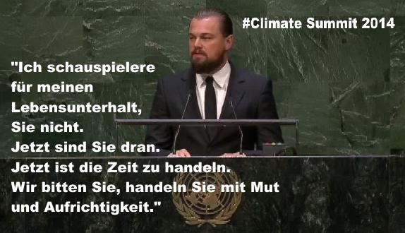 UN-Klimagipfel: Klimawandel ist die größte Gefahr für die Menschheit