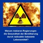 Korea: Über 250 Tonnen Lebensmittel aus Fukushima