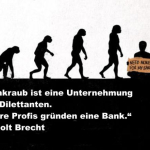 Deutsche Bank liegt am Boden – bei der Deutschen Bank verschwindet das Geld mit Skandalen…und bleibt eine never ending Story.