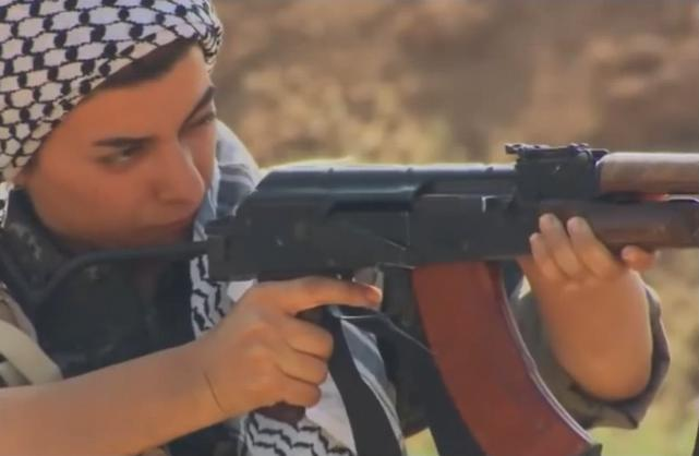 Weibliche kurdische Milizen im Kampf gegen den IS