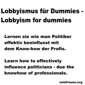 Lobbyismus1