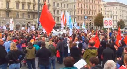 3.000 Menschen gingen alleine in Wien auf die Straße