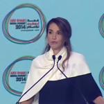 """Gewusst? Königin Rania hielt bereits 2014 eine """"Wutrede"""" in Abu Dhabi und forderte mehr Bildung als Waffe gegen IS"""