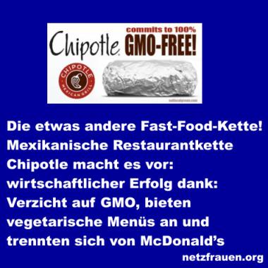 Die etwas andere Fast-Food-Kette – wirtschaftlicher Erfolg dank Verzicht auf GMO