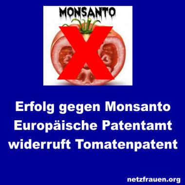 Erfolg gegen Monsanto – EPA widerruft Tomatenpatent