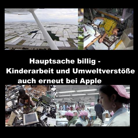 Hauptsache Billig Kinderarbeit Und Umweltverstöße Auch Erneut Bei