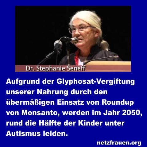Monsanto Autismus
