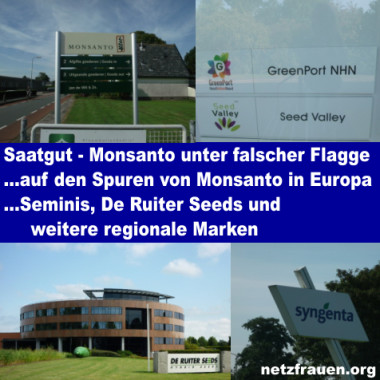 Monsanto-Saatgut