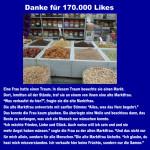 Danke für 170 000 Likes auf Facebook