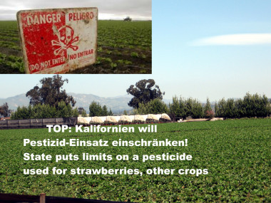 Pestizide Kalifornien