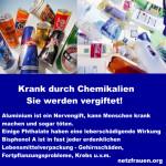 Krank durch Chemikalien – Sie werden vergiftet!