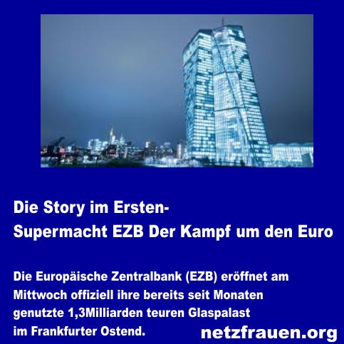 Die Story im Ersten – Supermacht EZB – Der Kampf um den Euro