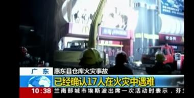 Dramatisches Ereignis in China