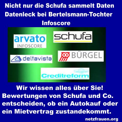 Wir wissen alles über Sie! Schufa und Co. – Datenleck bei Bertelsmann-Tochter Infoscore