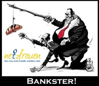 Wie die Banken uns alle fest im Griff haben und warum es ihnen sogar egal ist, ob sie Geld gewinnen oder verlieren.