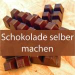 Schokolade selber machen - Das vermutlich kürzeste Schokoladenrezept der Welt