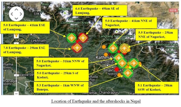 SOS von unserer Netzfrau aus Nepal – Earthquake devastates Nepal, killing at least 2500