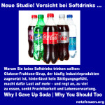 Neue Studie! Vorsicht bei Softdrinks … – Why I Gave Up Soda Why You Should Too
