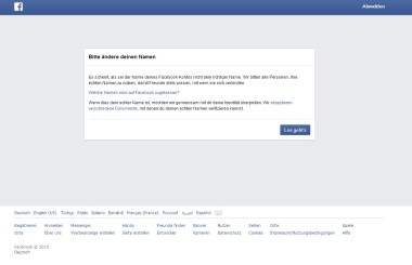 facebook_account gesperrt