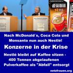 """Nestlé bleibt auf Kaffee sitzen – 400 Tonnen abgelaufenen Pulverkaffee als """"Abfall"""" entsorgt"""