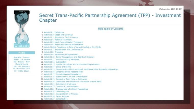 Julian Assange zum Trans-Pazifischen Abkommen – Secretive Deal Isn't About Trade, But Corporate Control