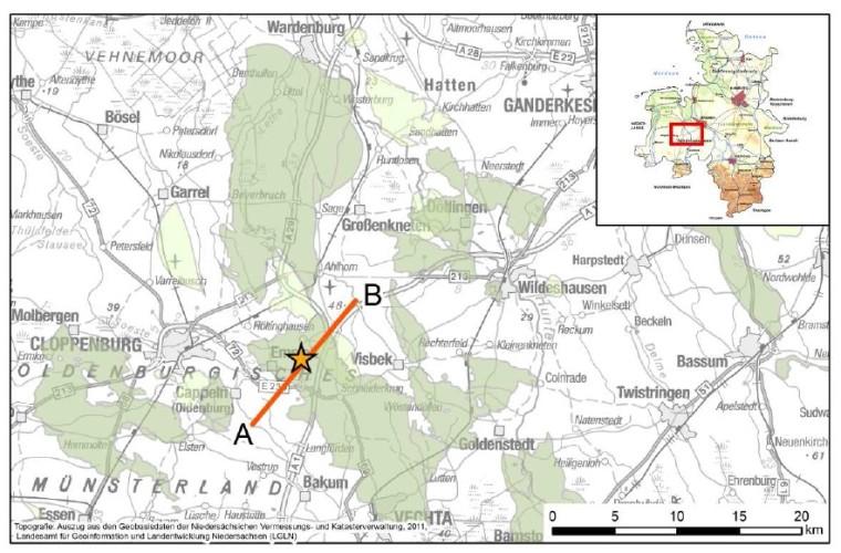 Erdbeben Emstek 19.012.2014