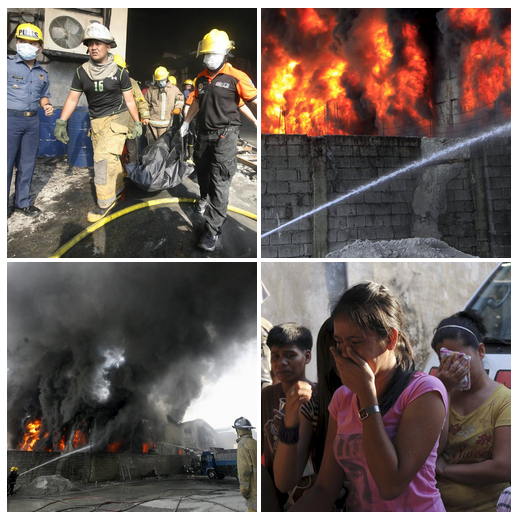 Viele Tote bei Schuhfabrikbrand auf den Philippinen