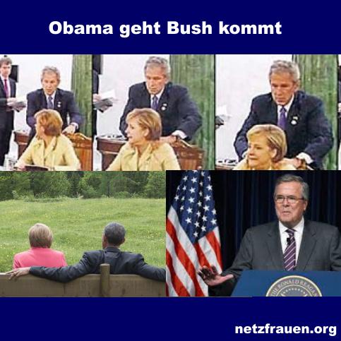 Obama geht Bush kommt