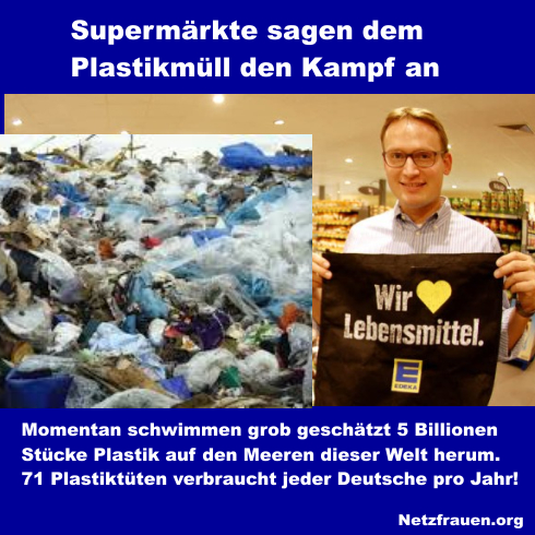 Supermärkte sagen dem Plastikmüll den Kampf an