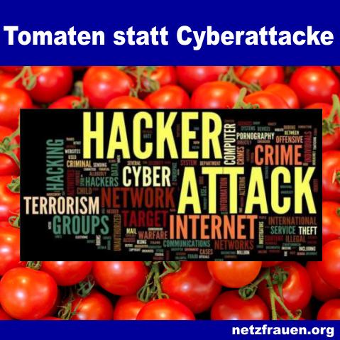Tomaten statt Cyberattacke