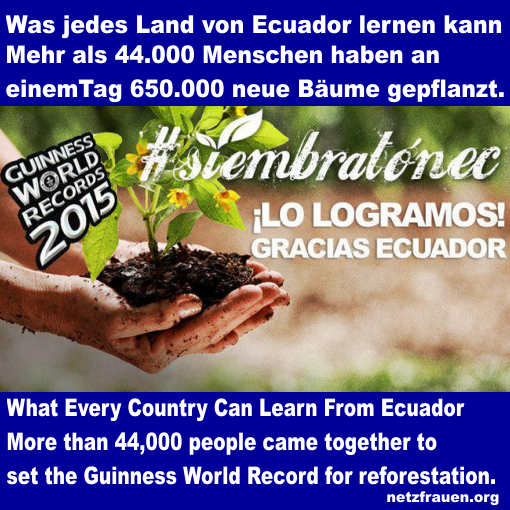 TOPP – Was jedes Land von Ecuador lernen kann – What Every Country Can Learn From Ecuador