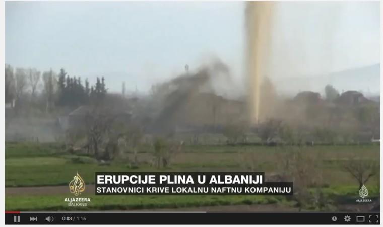 Fracking in Albanien – Familien mussten evakuiert werden, Häuser wurden unbewohnbar
